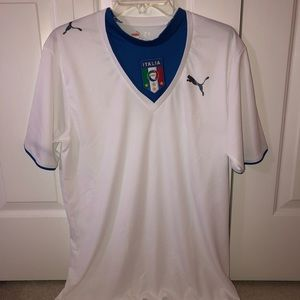 PUMA Unisex Italia Jersey (Size Adult M)